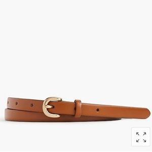 Zara| Thin brown belt